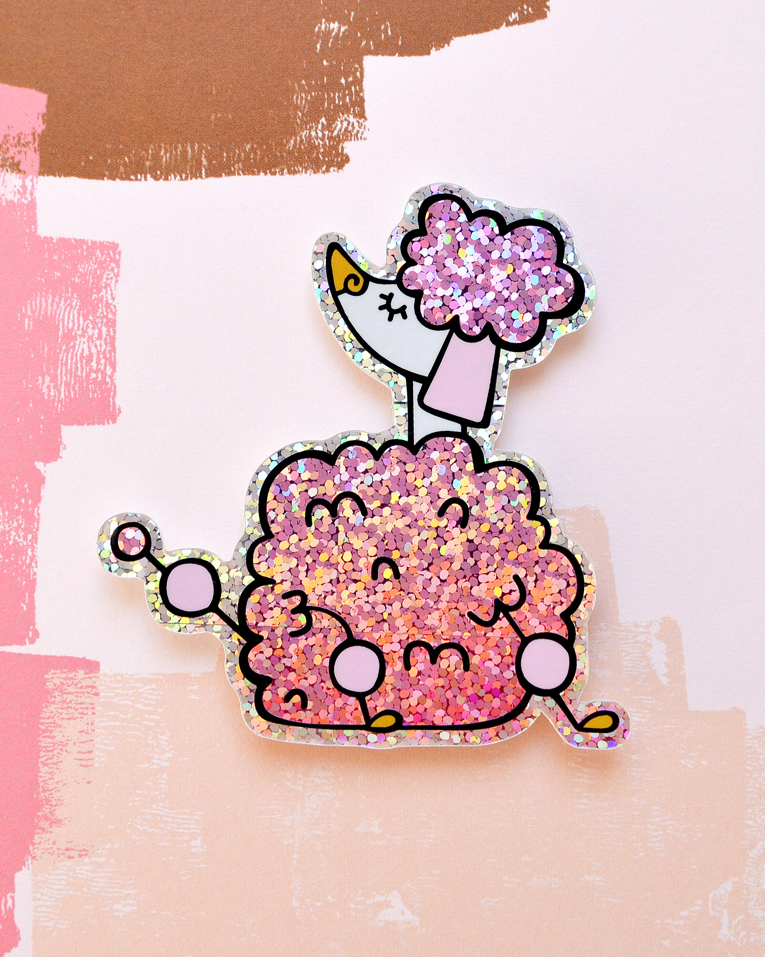 franjedesign_Stickers_GlitterPoodle_HOME