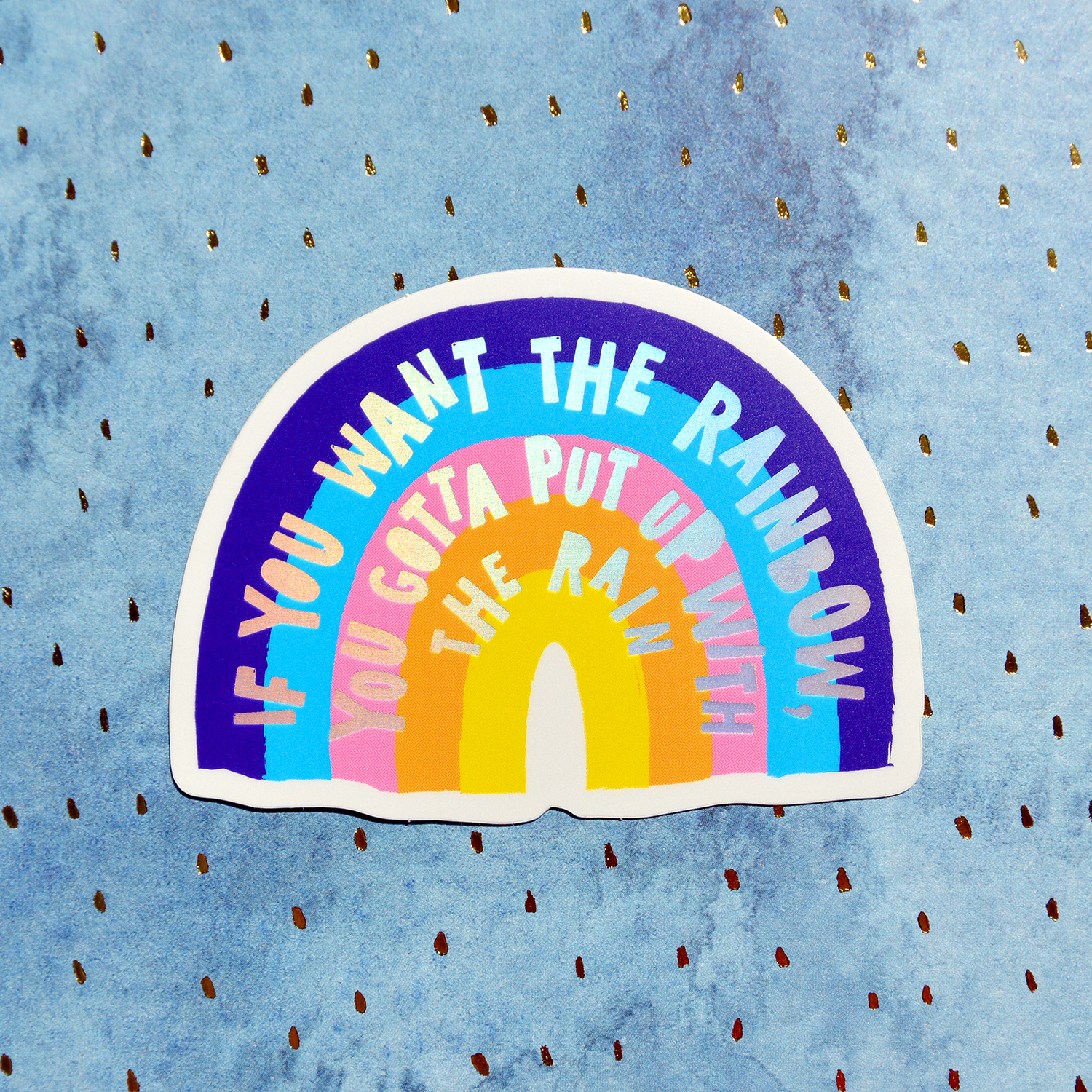 'Rainbow' sticker